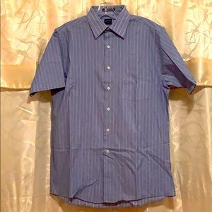 Arrow wrinkle free short sleeve regular fit shirt
